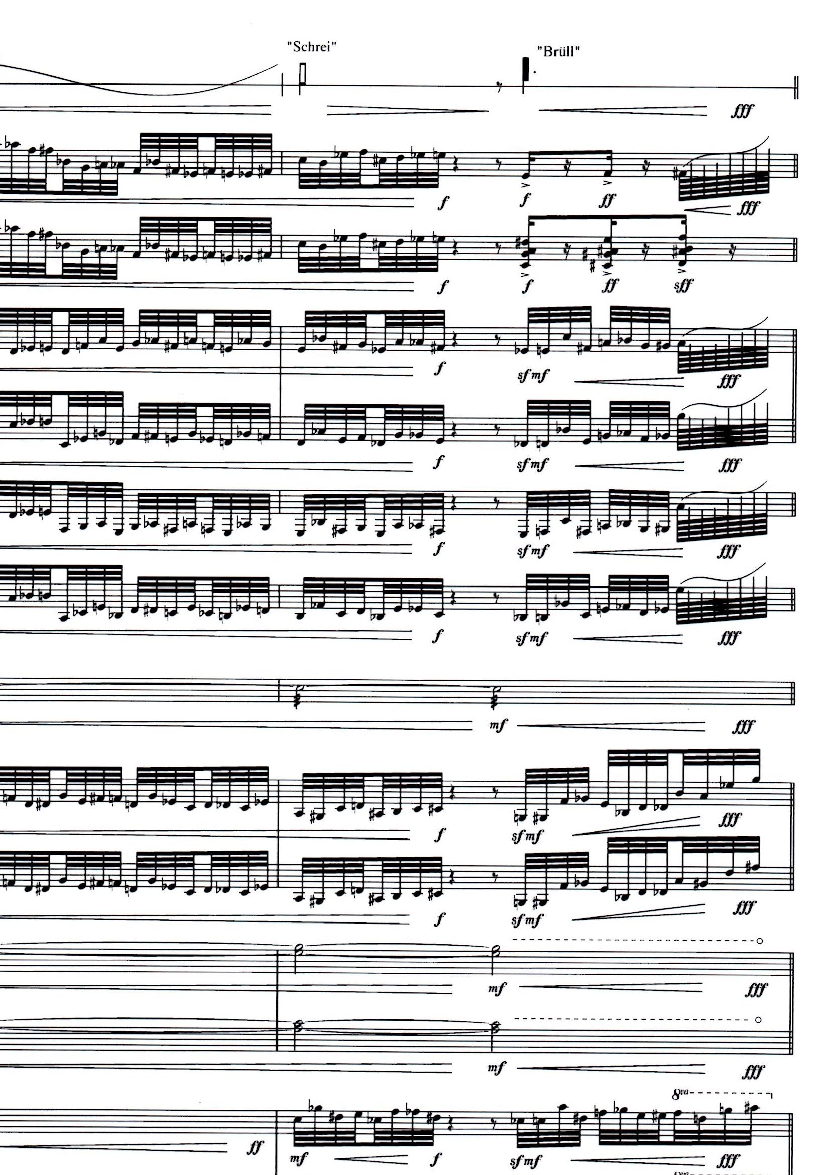 oehring partitur