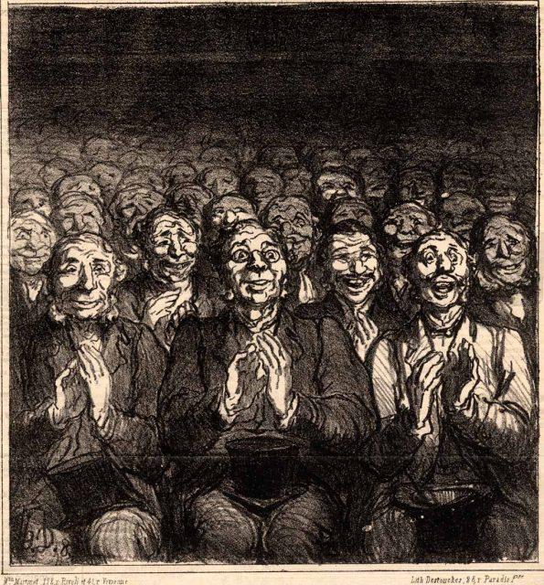 Daumier_Publikum-595x640