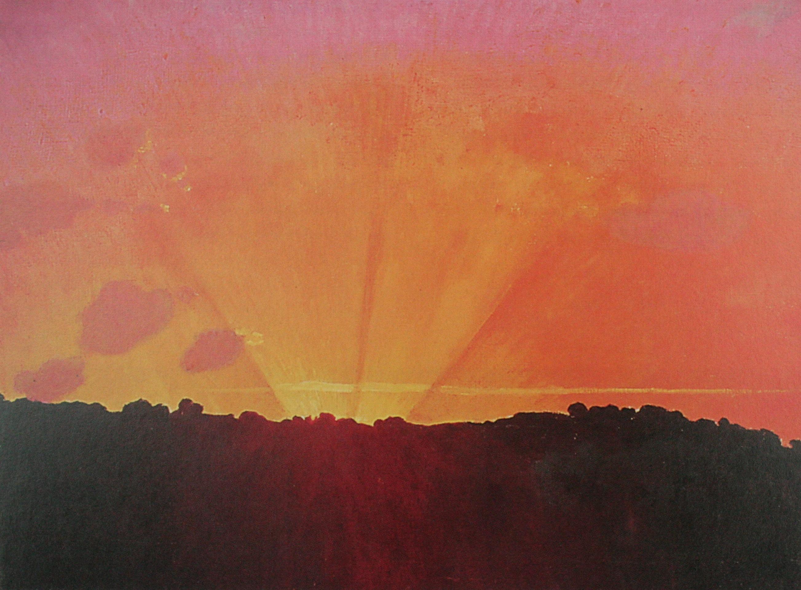 Vallotton Sonnenuntergang 1910 ganz